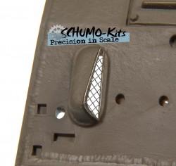 Schutzgitter für Lufteinlass Motordeck M4A3 Sherman
