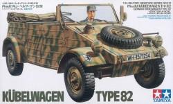 Kübelwagen Typ 82 - PKW K1 - 1:35