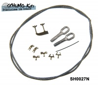 Towing cable and mounts for M4A3 Sherman and M51 Super Sherman