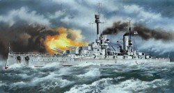 WWI German Battleship SMS Kronprinz - 1/350