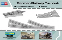 Germany Railway - Turnout Track - 59cm - 1/72