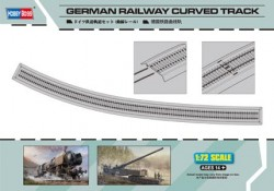 Germany Railway - Curved Track - 110 cm - 1/72