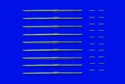 Geschützrohrset und Projektile für Yamato - 1:350