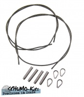 Metal Tow-Cable Set for Tiger Ausf. B / King Tiger
