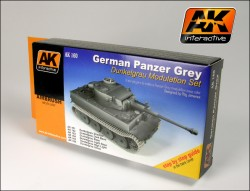 German Dark Grey / Panzergrau - Special Modulation Style Set (6)