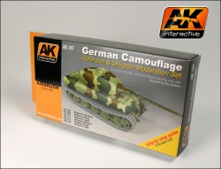 German Camouflage - Special Modulation Style Set (6 acrylic colours)