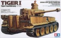 Tiger I Initial Produktion / Tiger Ausführung Afrika - 1:35