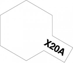 Tamiya X20A Acrylic Thinner 46ml