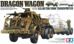 U.S. 40 Ton Tank Transporter - Dragon Wagon - 1:35