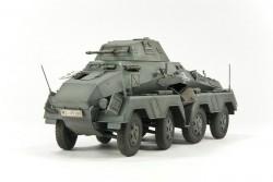 German schwerer Panzerspähwagen 8 Rad Sd.Kfz. 231 - Early Type - 1/35