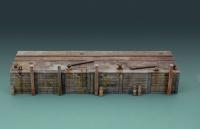 Langer Dock / Kaimauer / Long Dock - 60 cm - 1:35