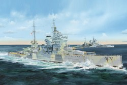 HMS Queen Elizabeth - 1943 - 1:350