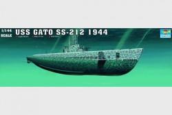 USS Gato - SS-212 - Gato Class Submarine - 1944 - 1/144