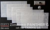 Zimmerit für Tamiya Panther G