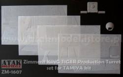 Zimmerit für Tamiya Königstiger mit Henschel Turm