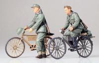 Deutsche Soldaten mit Fahrrädern - 1:35