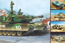 M1A1 / A2 Abrams - 5 in 1 - US Main Battle Tank - 1/35