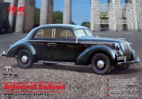 Opel Admiral Saloon - German Staff Car - 1/35
