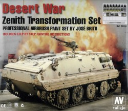Model Air Deser War - Zenith Transformation Set