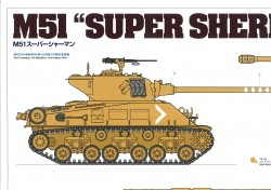 Bemalanleitung (Finishing Guide) für Tamiya Super Sherman (56032) 1:16