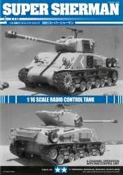 Instructions for Tamiya Super Sherman (56032) 1:16