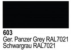 Grundierung Acryl Polyurethan Panzergrau RAL 7021 - 17ml