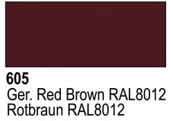 Grundierung Acryl Polyurethan Rotbraun RAL 8012 - 17ml