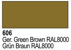Grundierung Acryl Polyurethan Grünbraun RAL 8000 - 17ml