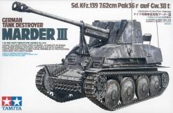 German Tank Destroyer Marder III - Sd.Kz. 139 - 1/35