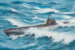 Deutsches U-Boot Typ VII C/41 - 1:144