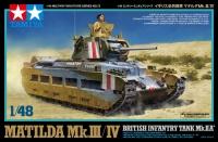 Matilda Mk. III / IV - British Infantry Tank. Mk. IIA - 1/48
