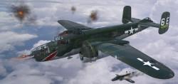 North American B-25J Mitchell - Glass Nose