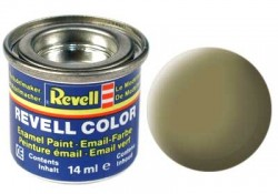 Revell 42 Gelboliv / Yellow Olive Bundeswehr RAL6014 - Flat