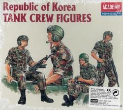 ROK Army Tank Crew (4 Figures) - 1/35