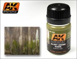 AK-026 Slimy Grime Dark / Grüne Schlieren dunkel