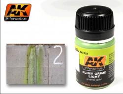 AK-027 Slimy Grime Light / Grüne Schlieren hell