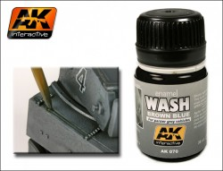 AK-070 Wash for Panzer Grey / Wash für Panzergrau
