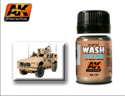 AK-121 Wash for OIF & OEF Vehicles
