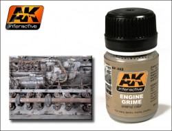 AK-082 Engine Grime / Motoren Schmutz / Schlieren