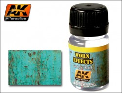 AK-088 Worn Effects Acrylic Fluid / Chipping leichte Abnutzung