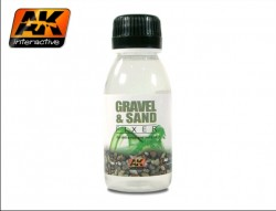 AK-118 Gravel and Sand Fixer / Kies und Sand Fixierer