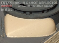 StuG III Ausf. G - Beschussabweiser Beton für Heng Long
