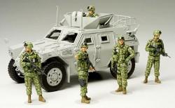 JGSDF Figuren Hilfsmannschaft. Irak - 1:35