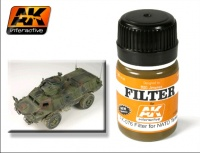 AK-076 Filter for NATO Tanks / Filter für NATO Dreifarbtarnung