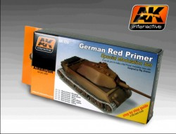 German Red Primer - Special Modulation Style Set (6 acrylic colours)