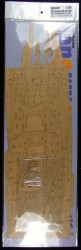 Wooden Deck for 1/200 USS Arizona BB-39 1941 - Trumpeter 03701- 1/200