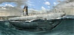 Deutsches U-Boot Typ IIA - 1:72