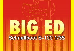 Big Ed Photoetched Parts Set for Italeri Schnellboot S-100 1/35