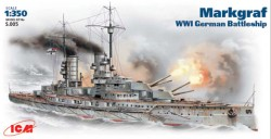 Großlinienschiff SMS Markgraf der Kaiserlichen Marine - 1:350