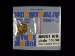 Chain for 1/200 ships - 100cm